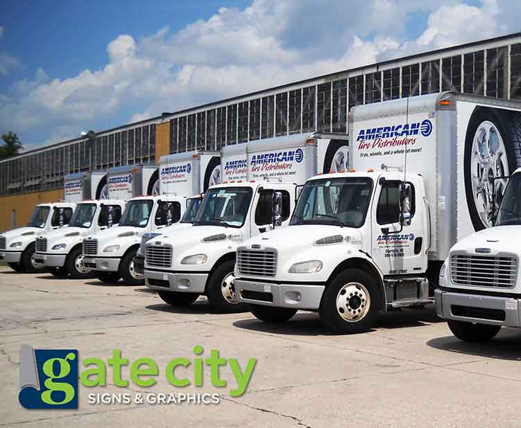 Commercial fleet wraps in Greensboro, NC
