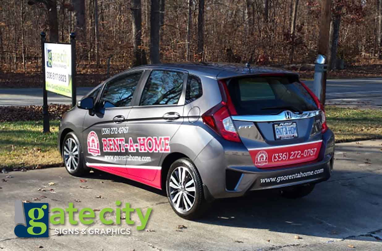 partial vehicle wrap Greensboro | Winston Salem | High Point | Burlington NC