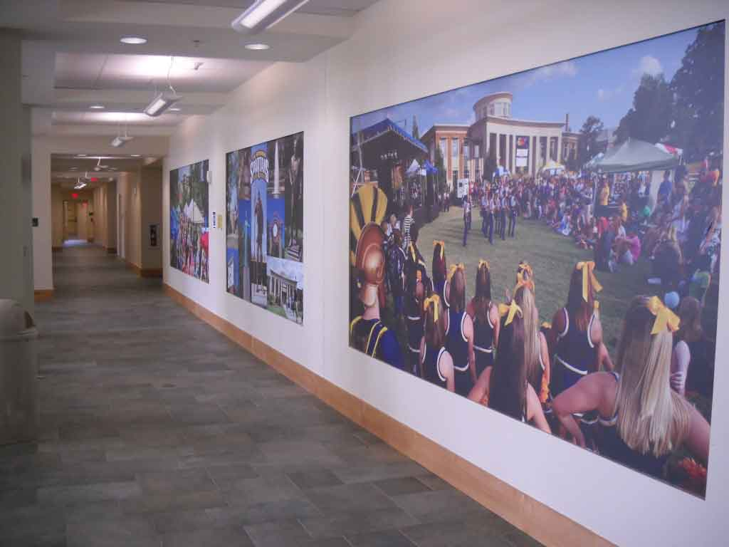 wall graphics wall murals Greensboro | Winston Salem | High Point | Burlington NC